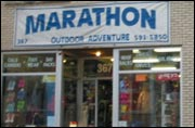 Toronto camping store Marathon having end-of-lease sale